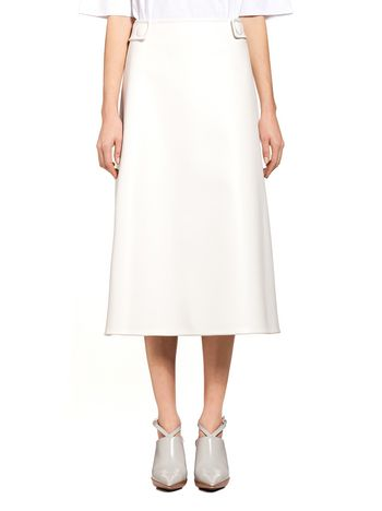 Marni Runway skirt in faux leather Woman