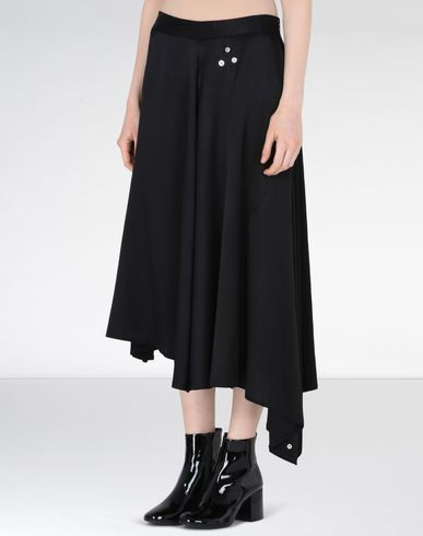 MM6 by MAISON MARGIELA 3/4 length skirt D Asymmetric skirt f