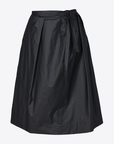 MAISON MARGIELA Technical cotton skirt 3/4 length skirt D f