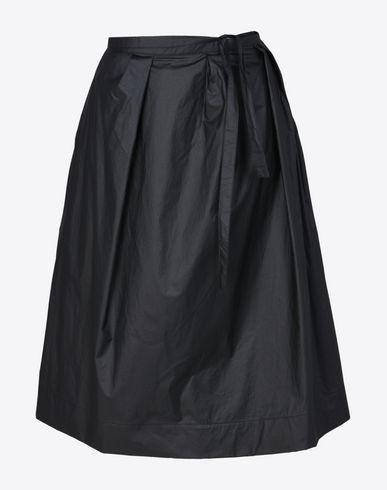 MAISON MARGIELA 3/4 length skirt D Technical cotton skirt f