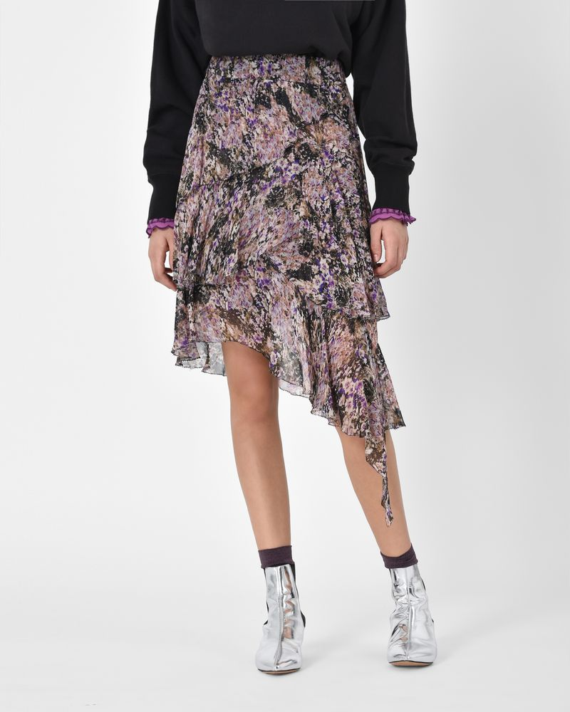 Isabel Marant Étoile Jeezon floral print skirt Free Shipping Sneakernews Cheap Discounts TUnqi