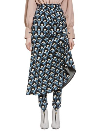 Marni Skirt in jersey Portrait  Woman