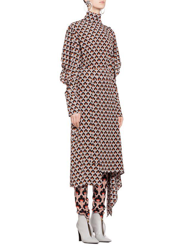 Marni Silk skirt Portrait print Woman - 5