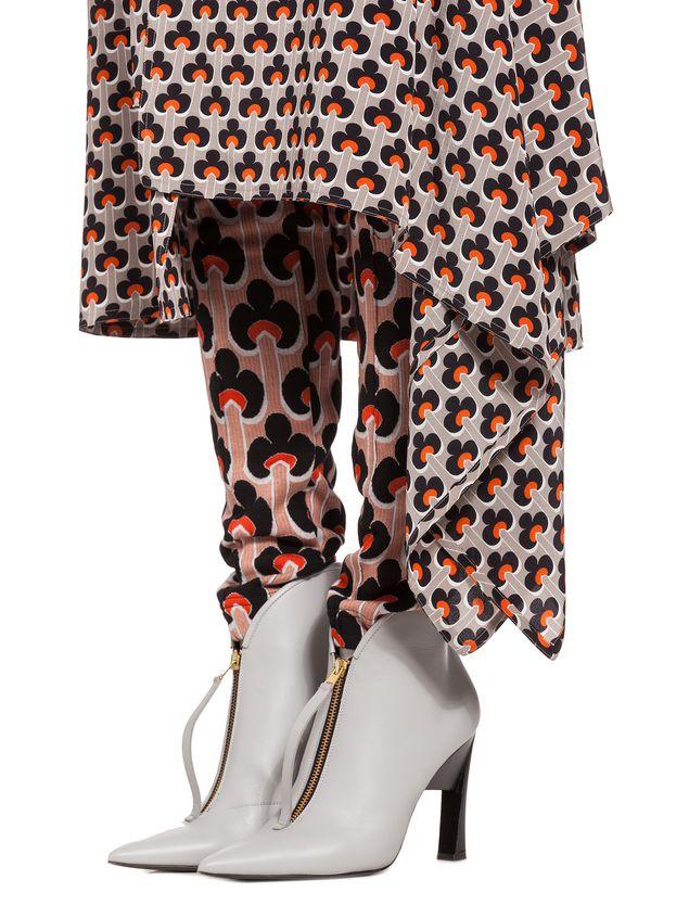Marni Silk skirt Portrait print Woman - 4