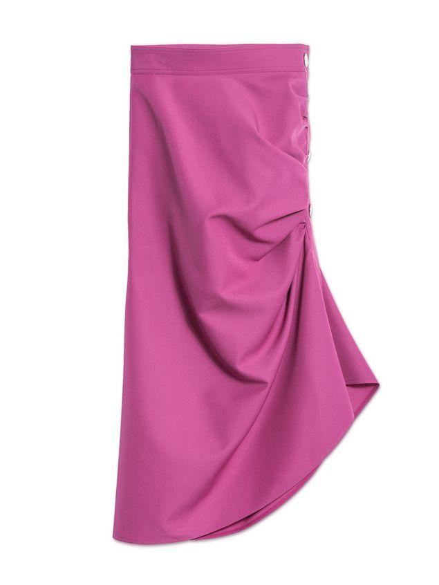 Marni Puckered skirt in techno gabardine Woman - 2