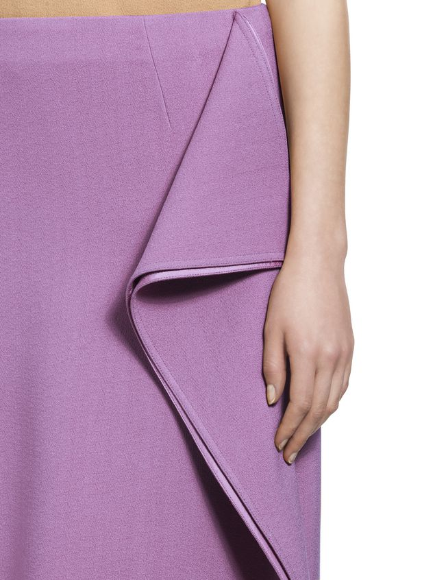 Marni Flouced skirt in cotton viscose Woman - 4