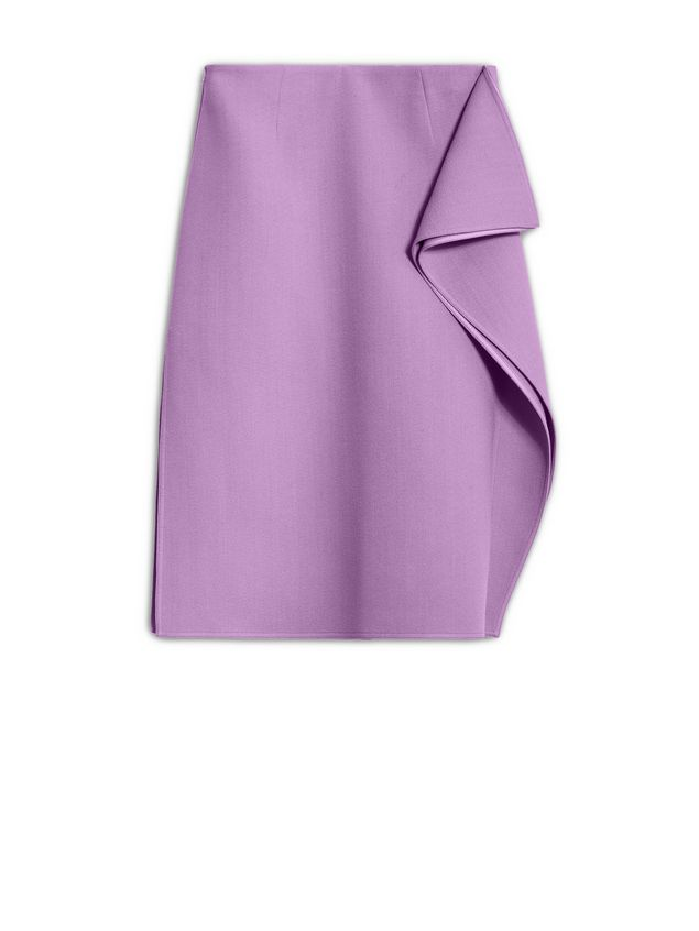 Marni Flouced skirt in cotton viscose Woman - 2