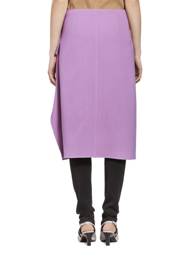 Marni Flouced skirt in cotton viscose Woman - 3