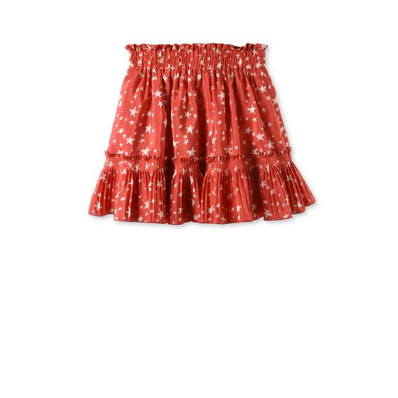 Jupe Twinkle rouge avec imprimé étoiles