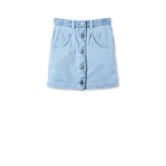 River Denim Skirt