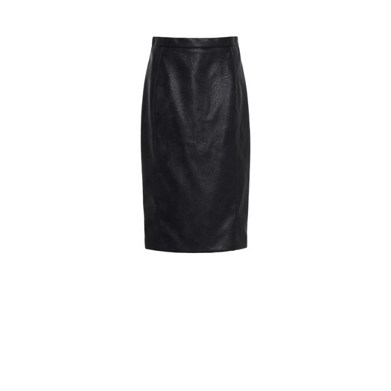 Mansela Skin Free Skin Leather Skirt