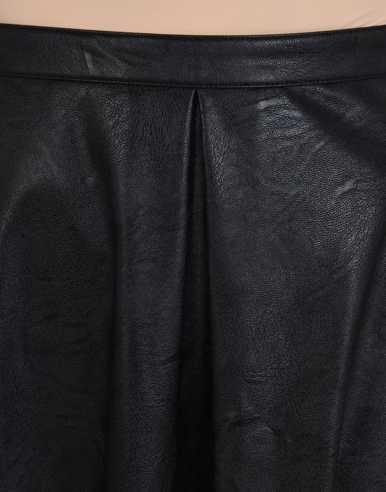 MM6 MAISON MARGIELA Jupe en faux cuir descendant jusqu'aux chevilles Jupe longue Femme e