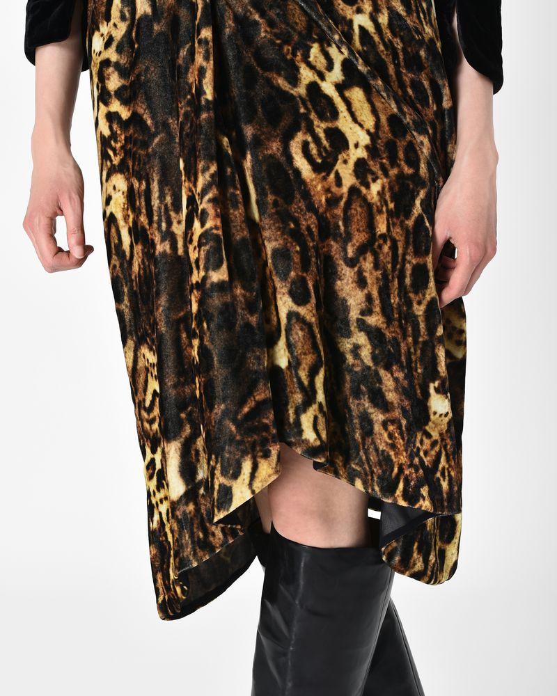 3ab50eea79b8 ... TURSANNE leopard print velvet midi skirt ISABEL MARANT ...