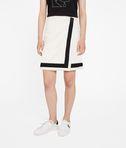 KARL LAGERFELD Asymmetric Bouclé Skirt 8_e