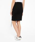 KARL LAGERFELD Leather Skirt W/ Lacing 8_d