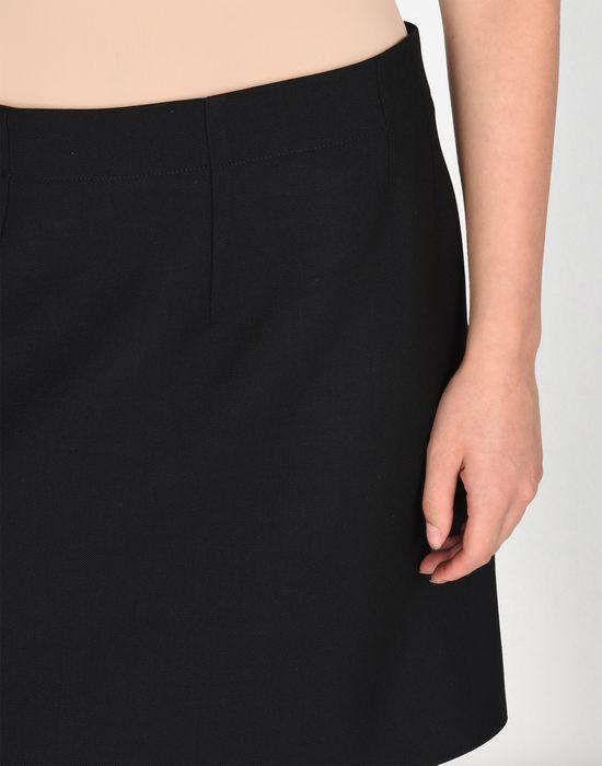 MM6 MAISON MARGIELA Jupe descendant jusqu'au genou avec détail drapé Jupe au genou Femme e