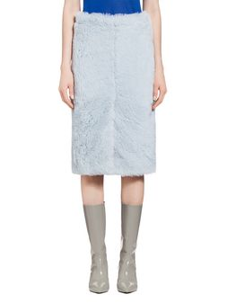 Marni Skirt in diagonal alpaca Woman