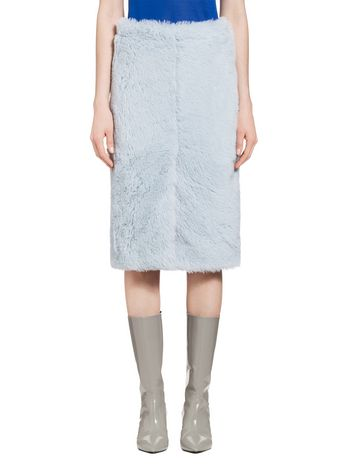 Marni Skirt in twill-weave alpaca Woman