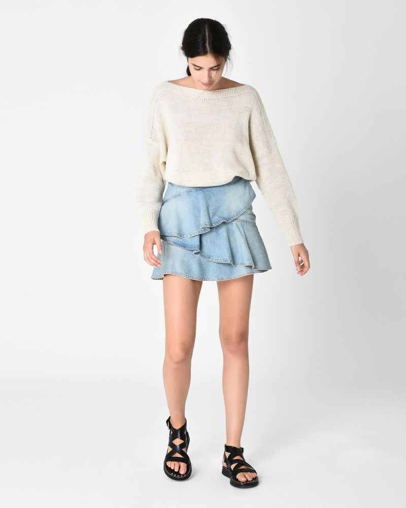 COATI denim skirt ISABEL MARANT ÉTOILE