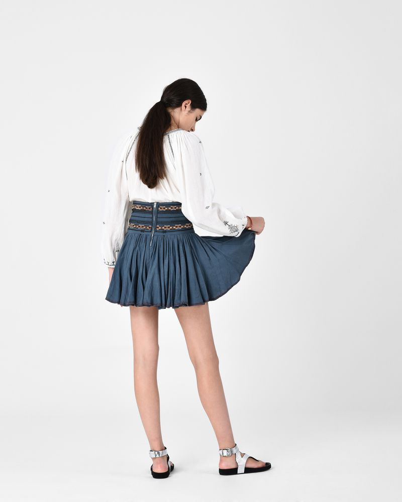 BREEDA embroidered skirt ISABEL MARANT ÉTOILE