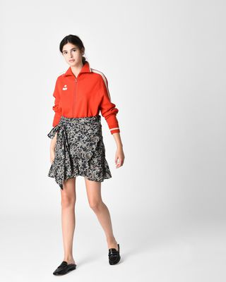ISABEL MARANT ÉTOILE SHORT SKIRT Woman TEMPSTER printed skirt r