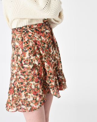 ISABEL MARANT SHORT SKIRT Woman FERNA floral skirt r
