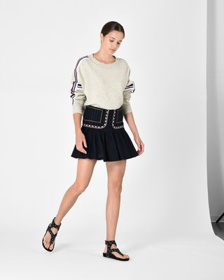 ISABEL MARANT ÉTOILE SHORT SKIRT D JESSIE short skirt r