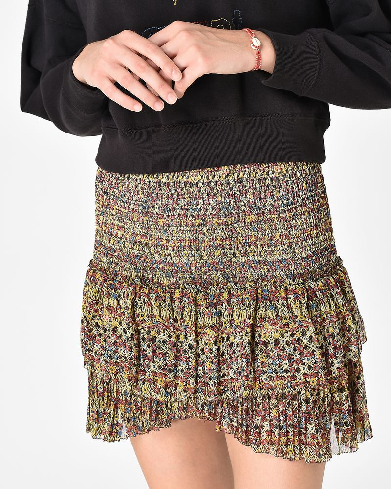 EARLEY short smocked skirt ISABEL MARANT ÉTOILE