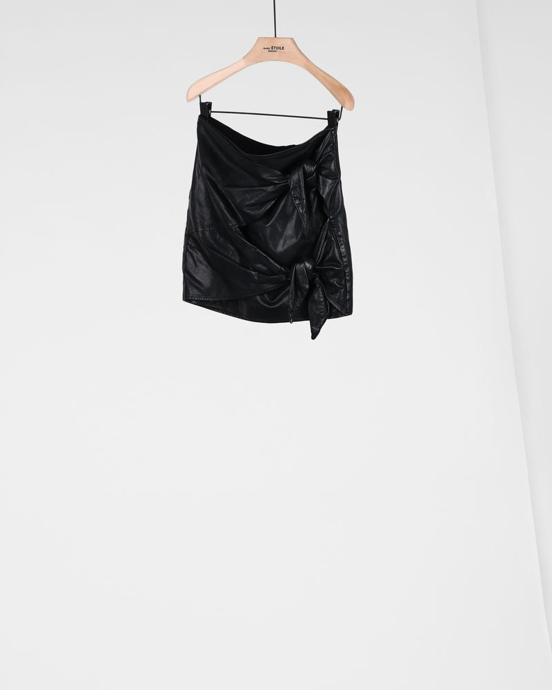 GRITANNY leather skirt ISABEL MARANT ÉTOILE