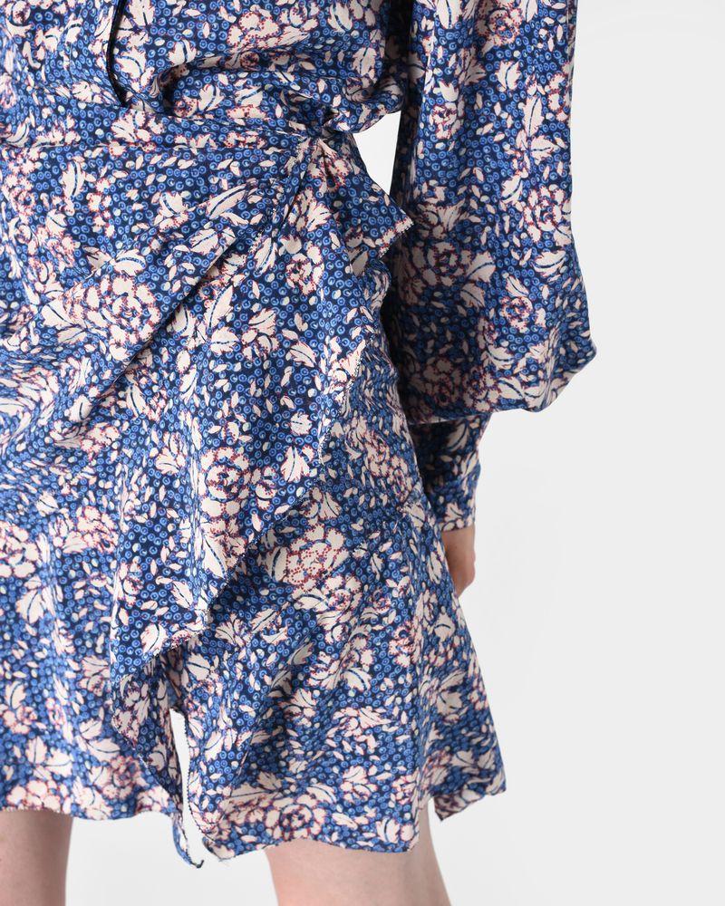 BECKA floral silk skirt ISABEL MARANT