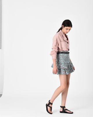 NAOMI ruffle skirt