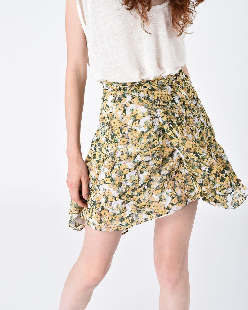 FERNA floral skirt ISABEL MARANT