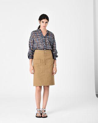 LANALIE cotton skirt