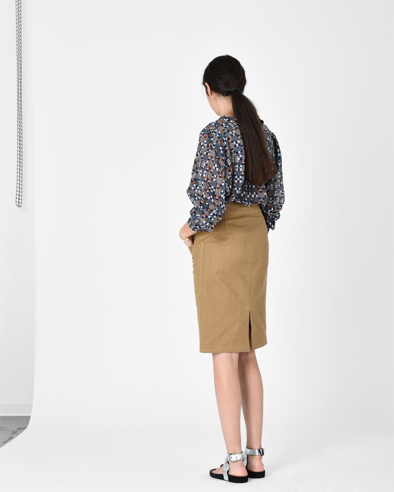 LANALIE cotton skirt ISABEL MARANT ÉTOILE