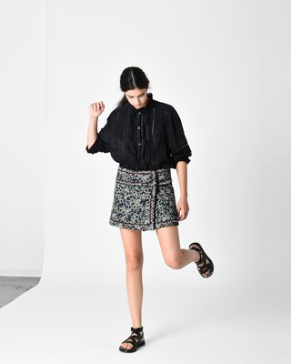 ISABEL MARANT ÉTOILE SHORT SKIRT Woman HANON short skirt r