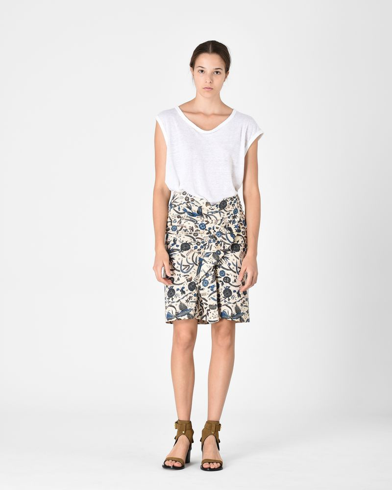 CAJA skirt in cotton satin  ISABEL MARANT ÉTOILE