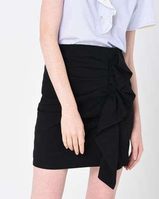 ISABEL MARANT SHORT SKIRT D LEFLY stretch skirt r