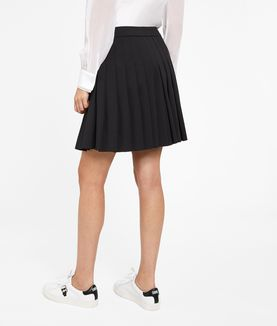 KARL LAGERFELD KARL PLEATED SKIRT