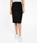 Textured Sparkle Pencil Skirt
