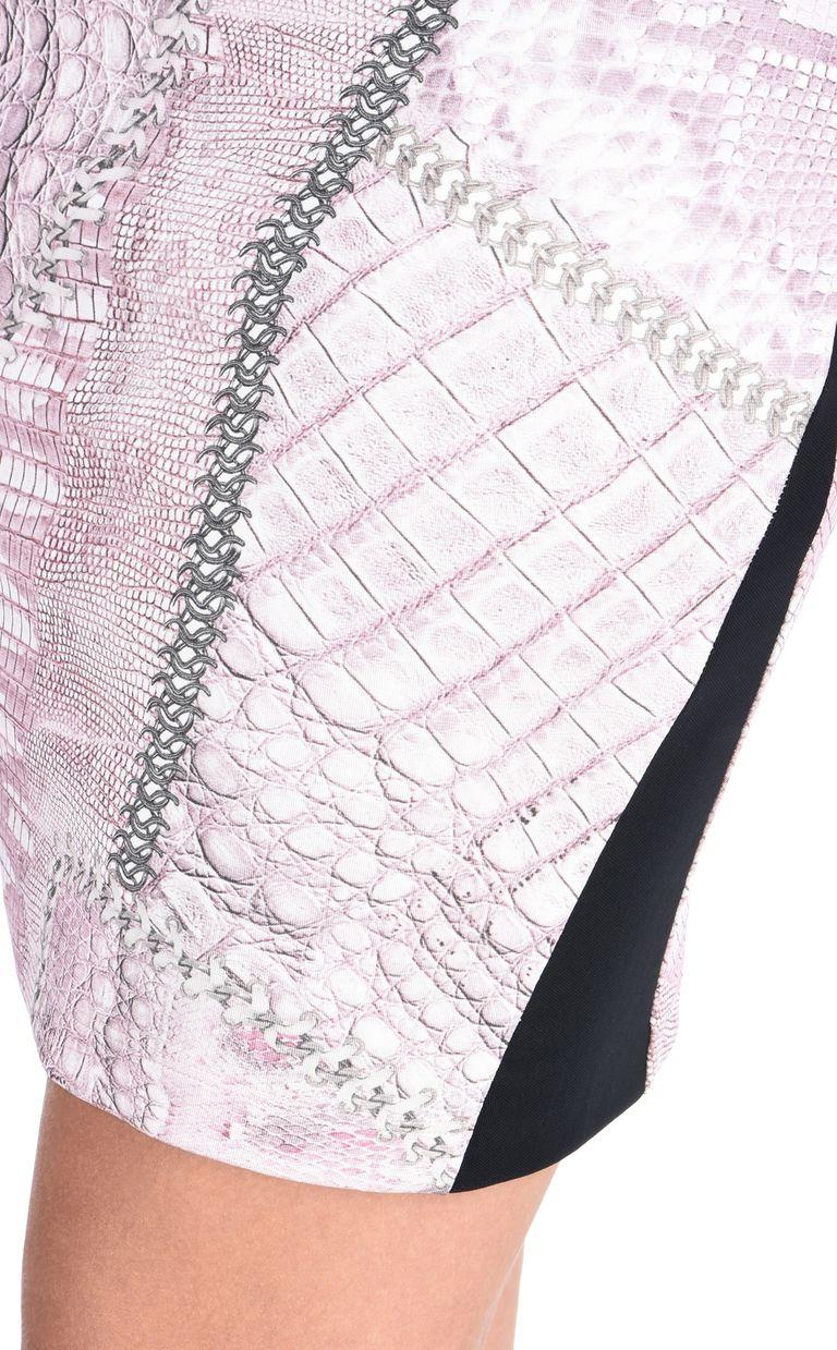 JUST CAVALLI Mini skirt in Cracking Beauty print Skirt Woman e
