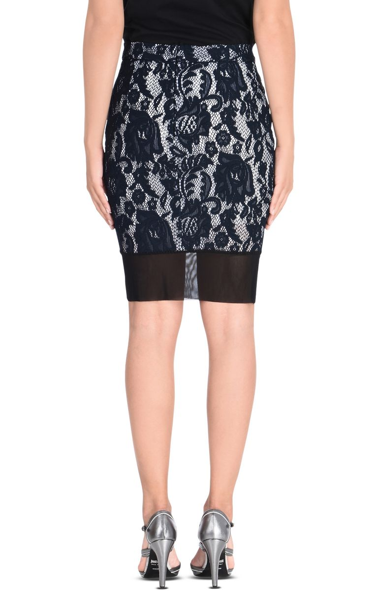 JUST CAVALLI Macramé lace mini skirt Skirt [*** pickupInStoreShipping_info ***] d