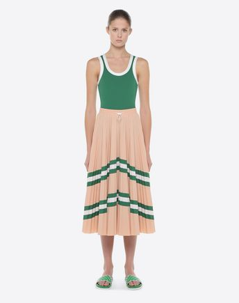 VALENTINO Printed skirt D Pleated Skirt r