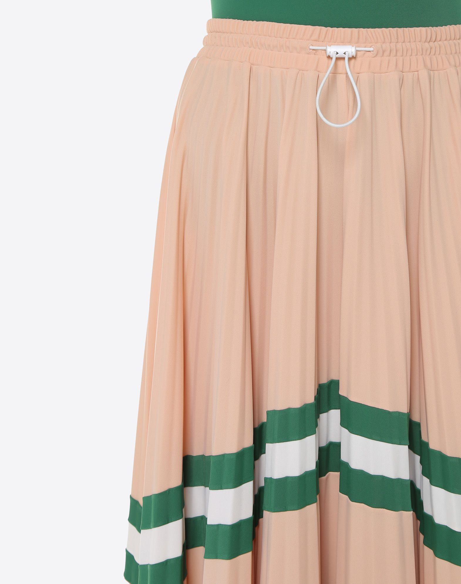VALENTINO Pleated Skirt Printed skirt D a