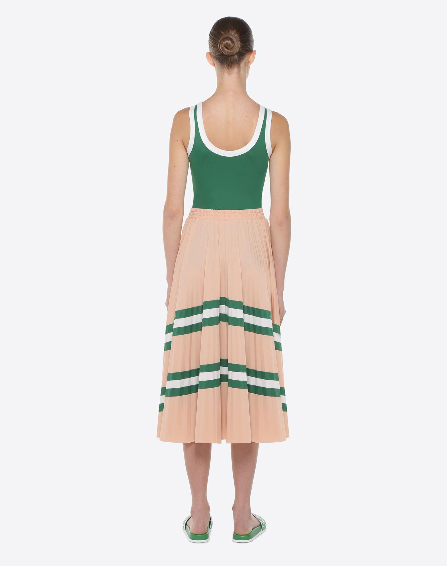 VALENTINO Pleated Skirt Printed skirt D e