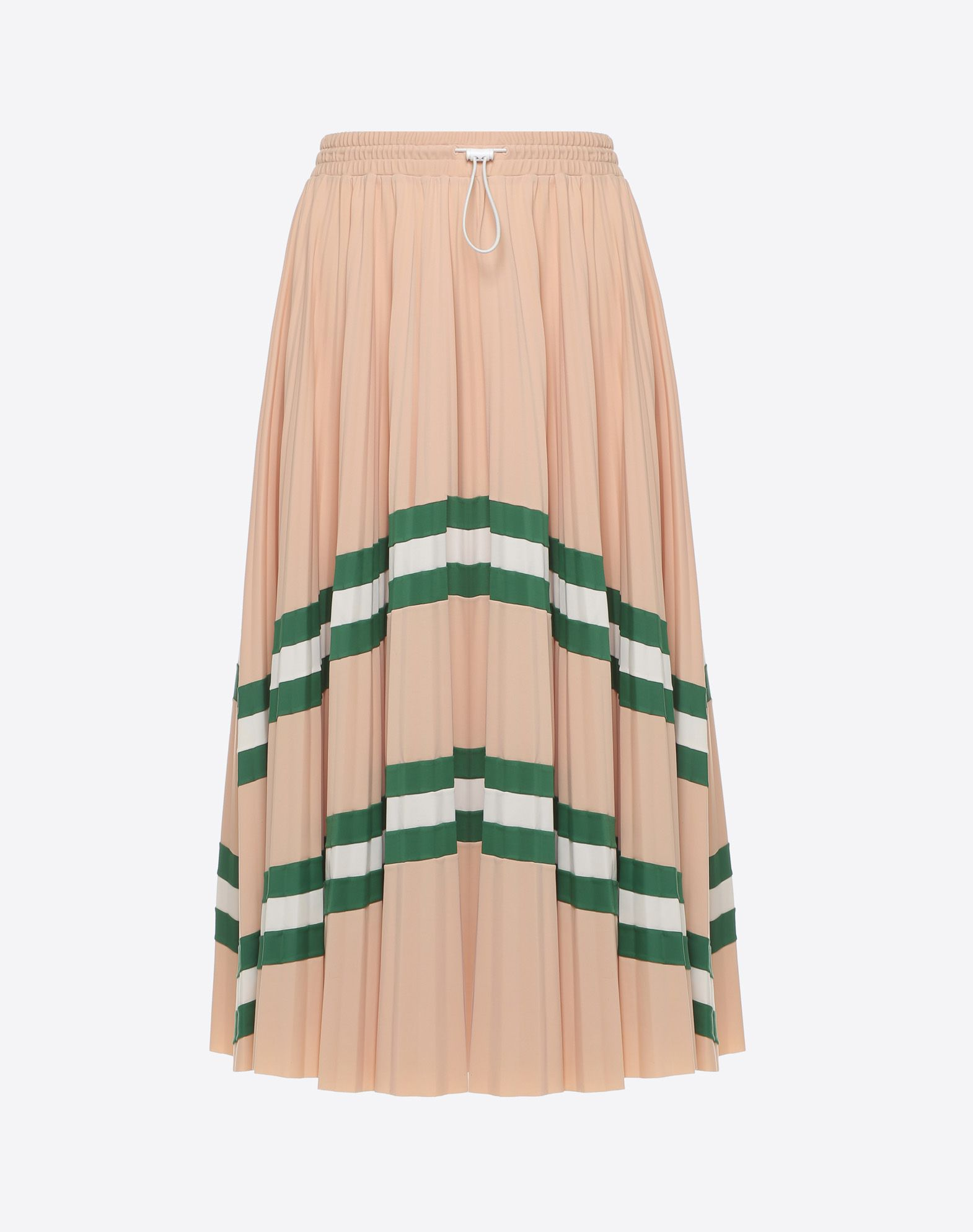 VALENTINO Pleated Skirt Printed skirt D f