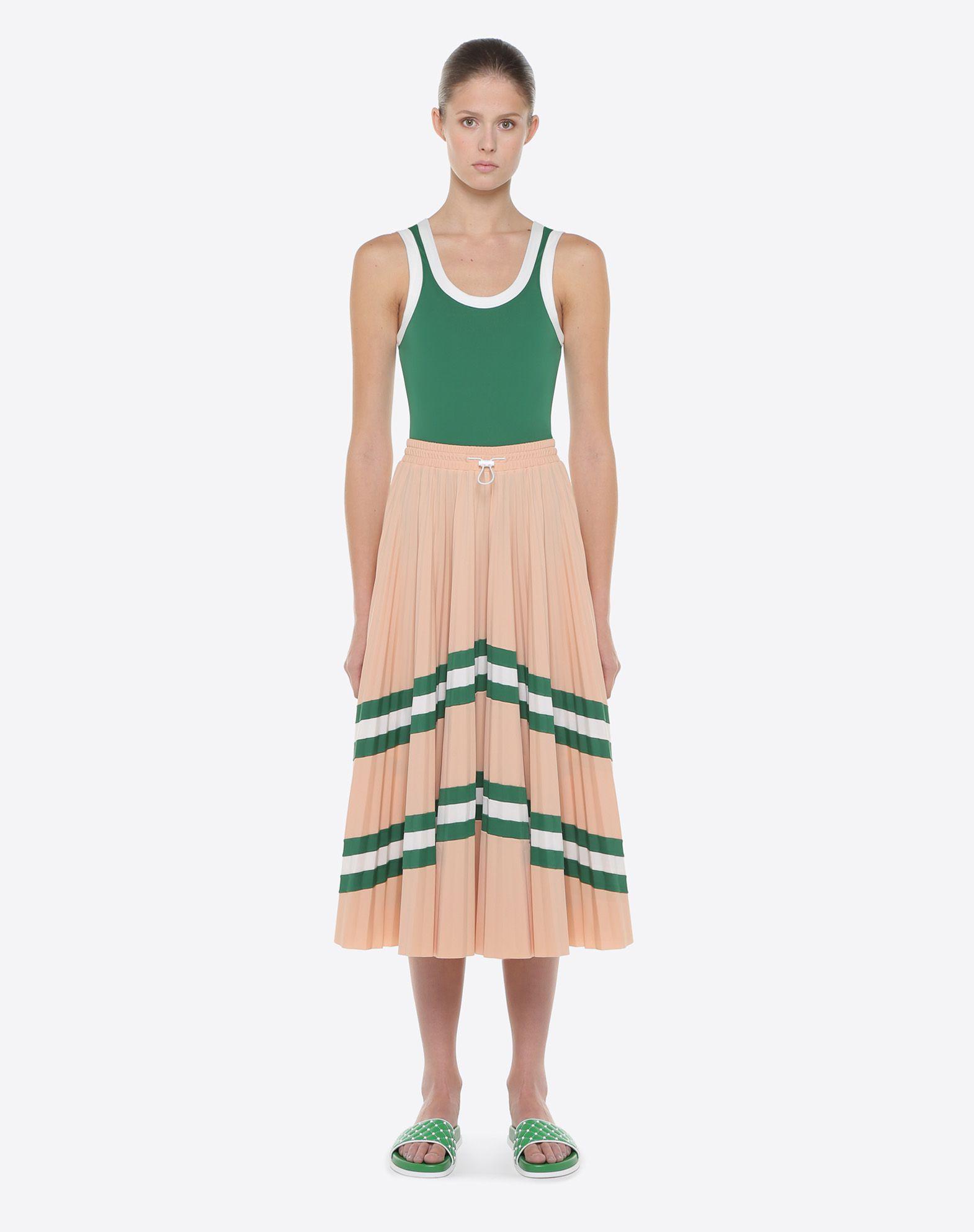 VALENTINO Pleated Skirt Printed skirt D r
