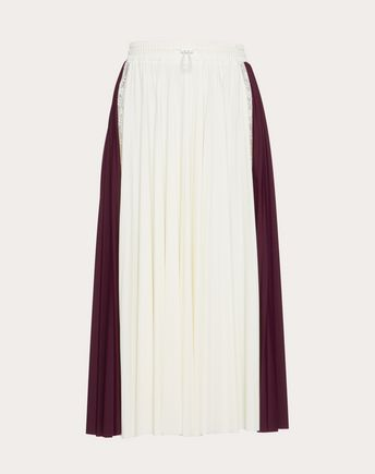 VALENTINO Skirt D Pleated Skirt f