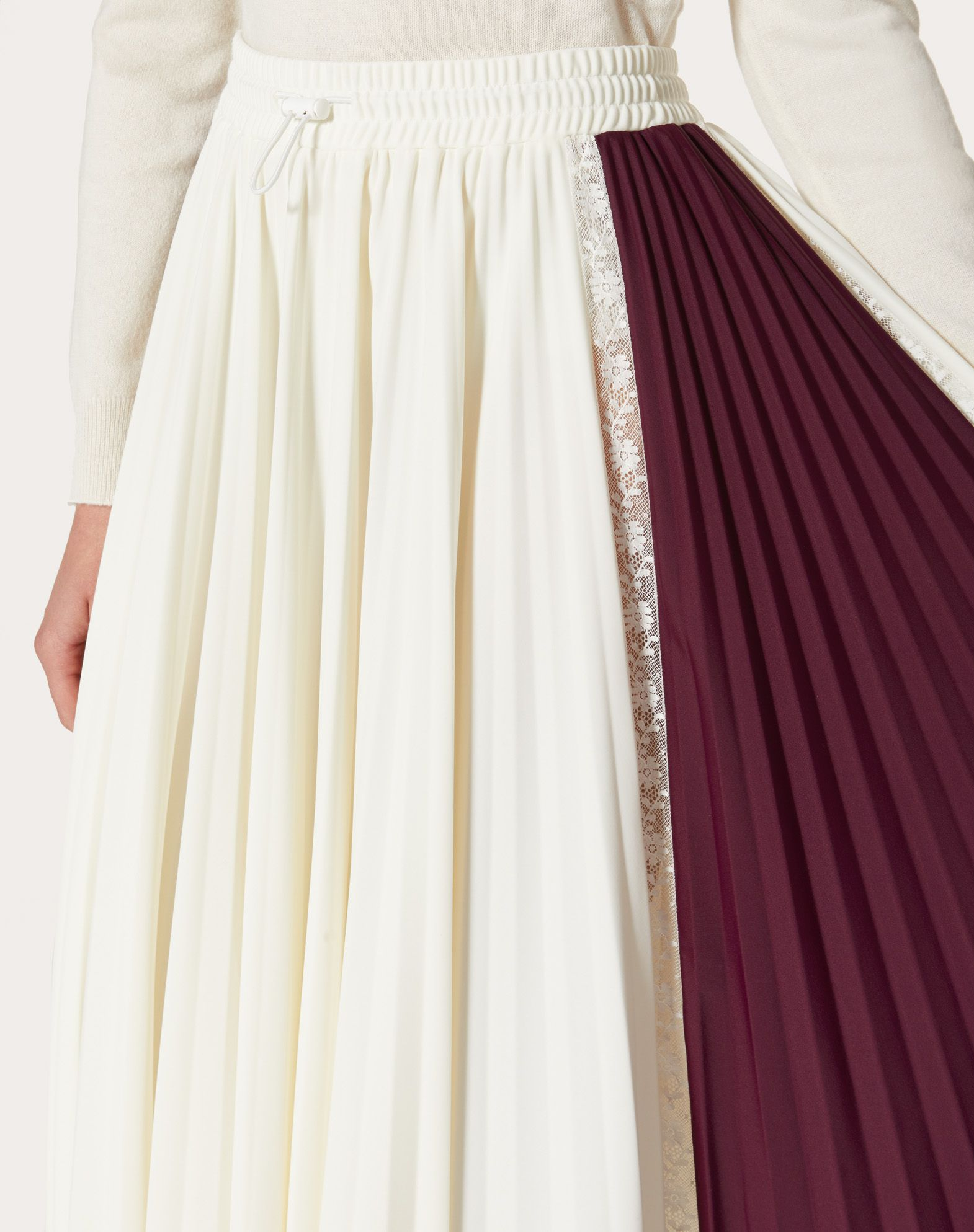 VALENTINO Pleated skirt Skirt D a