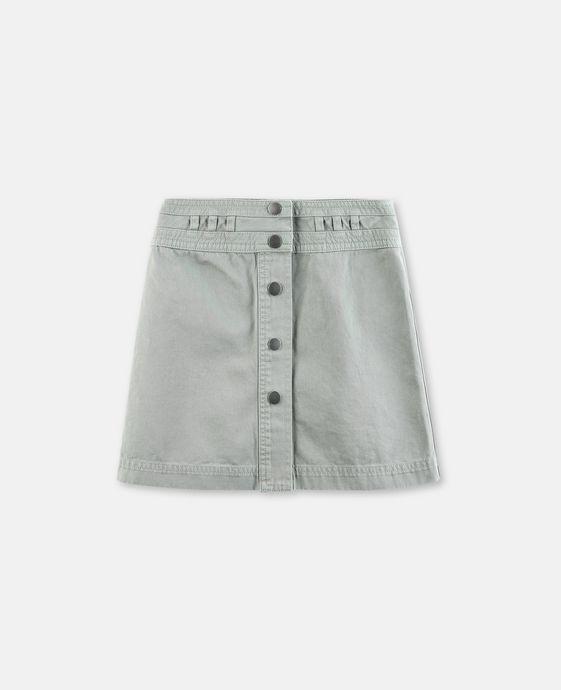 Karlie Khaki Skirt