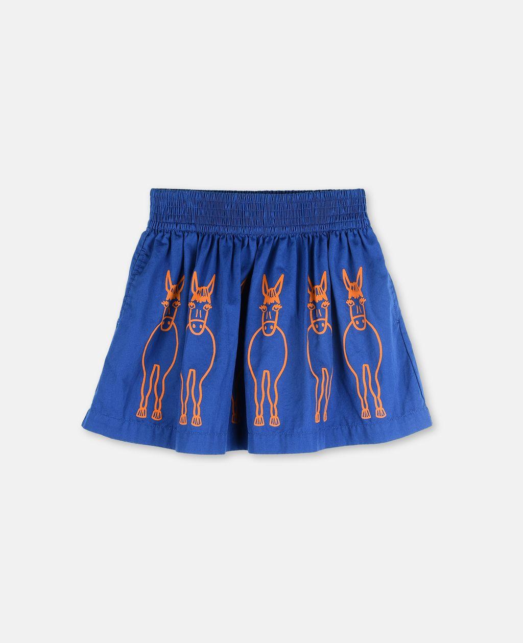 Nat Donkeys Print Skirt